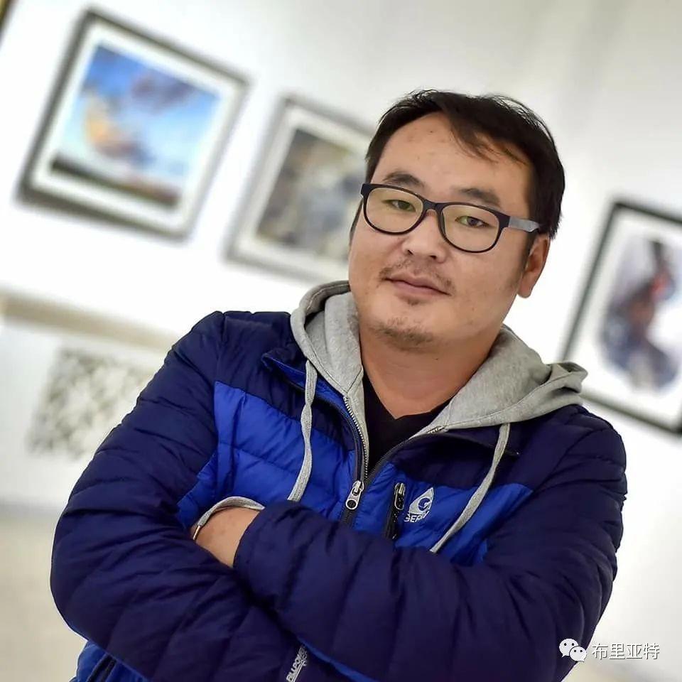 蒙古国少有的水彩画大师孟赫巴特尔作品欣赏 第65张 蒙古国少有的水彩画大师孟赫巴特尔作品欣赏 蒙古画廊