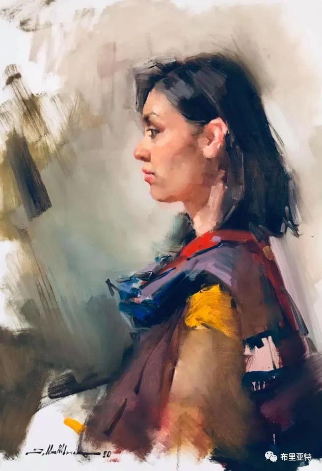 蒙古国少有的水彩画大师孟赫巴特尔作品欣赏 第63张 蒙古国少有的水彩画大师孟赫巴特尔作品欣赏 蒙古画廊