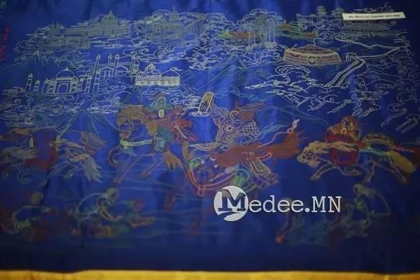 世界上独一无二的刺绣本蒙古秘史,价值连城 第7张