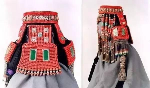 蒙古族姑娘婚礼头饰 第2张 蒙古族姑娘婚礼头饰 蒙古工艺