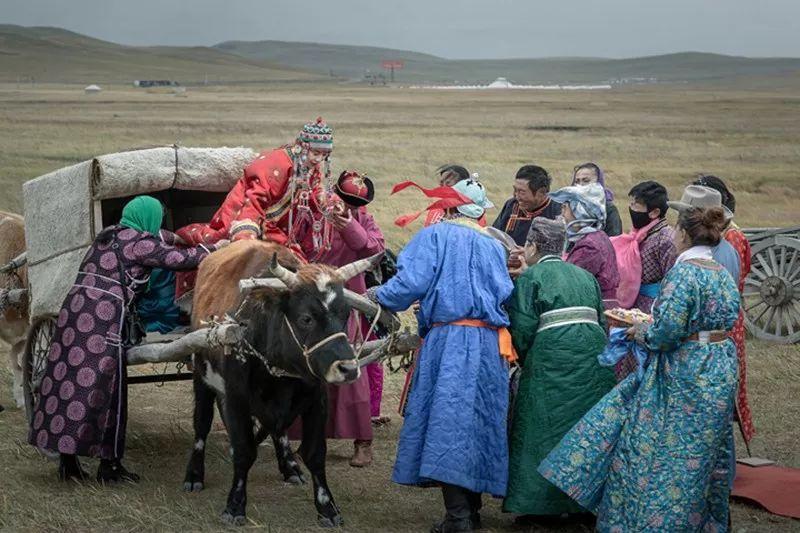 蒙族婚礼 第8张 蒙族婚礼 蒙古文化