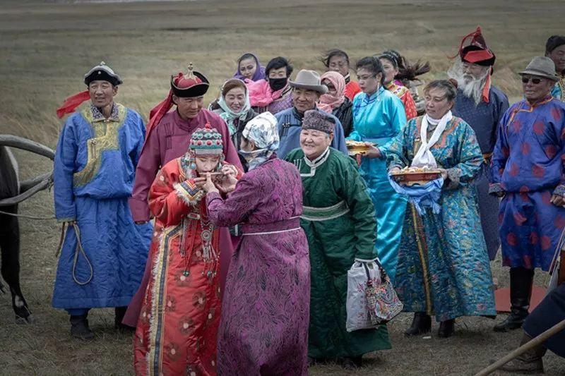 蒙族婚礼 第9张 蒙族婚礼 蒙古文化