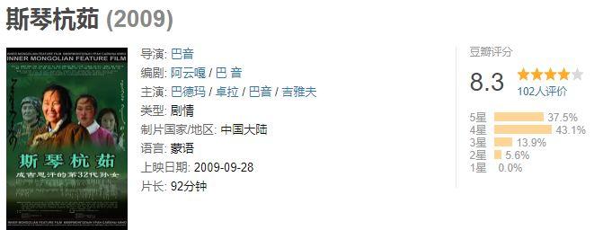 60部蒙古电影 部部都值得看 第75张