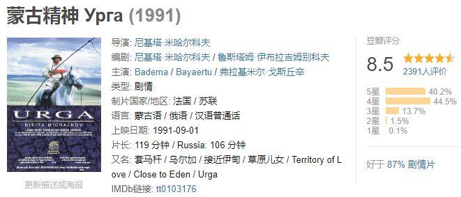 60部蒙古电影 部部都值得看 第105张