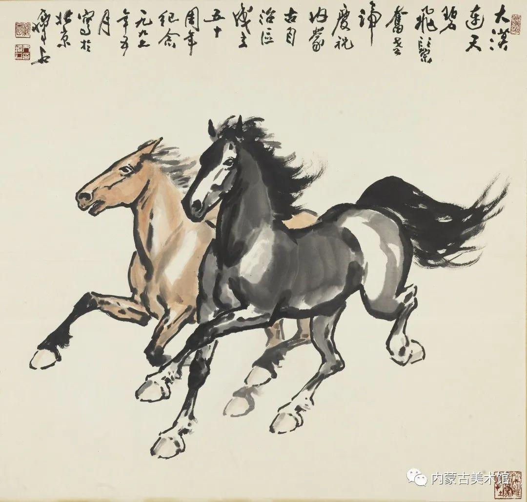 内蒙古美术馆,馆藏来了 第2张