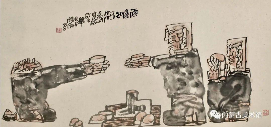内蒙古美术馆,馆藏来了 第8张