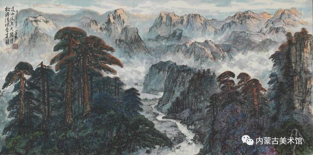 内蒙古美术馆,馆藏来了 第10张 内蒙古美术馆,馆藏来了 蒙古画廊