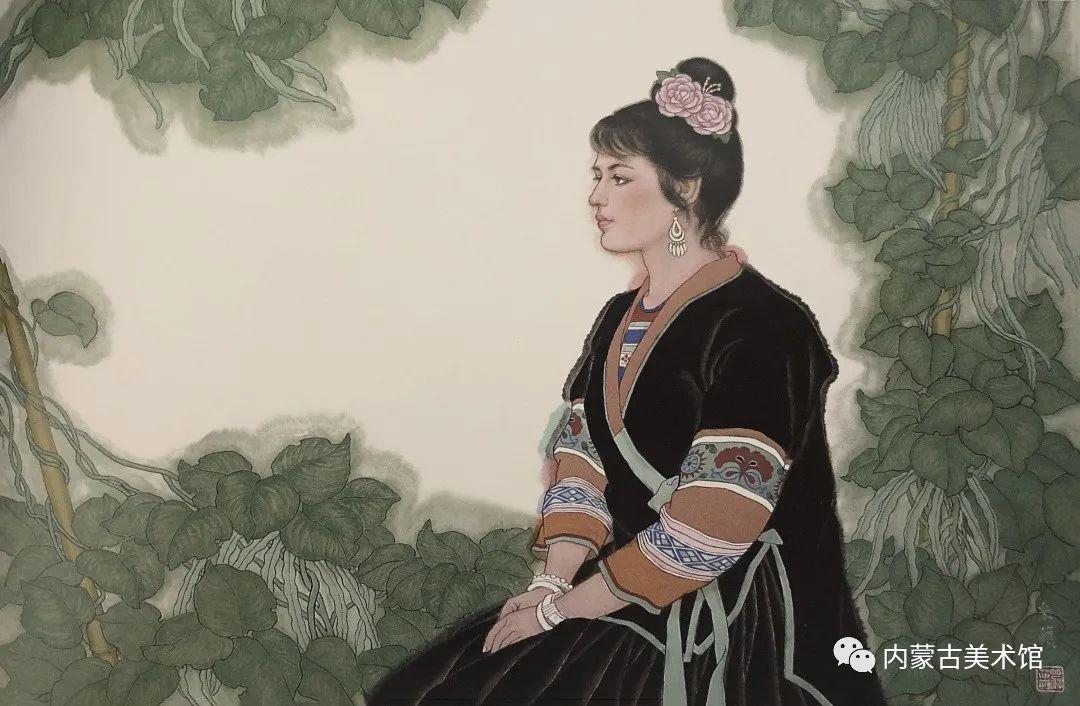 内蒙古美术馆,馆藏来了 第16张