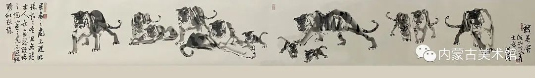 内蒙古美术馆,馆藏来了 第26张 内蒙古美术馆,馆藏来了 蒙古画廊