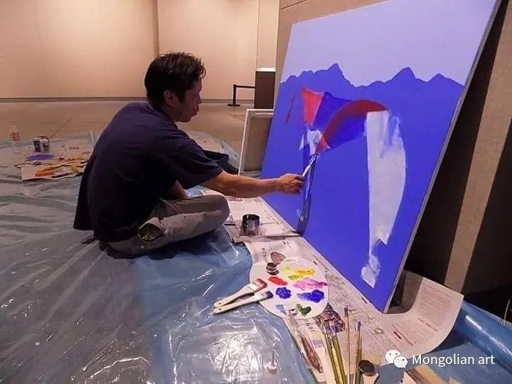 蒙古国青年艺术家 U.Battsooj 第2张