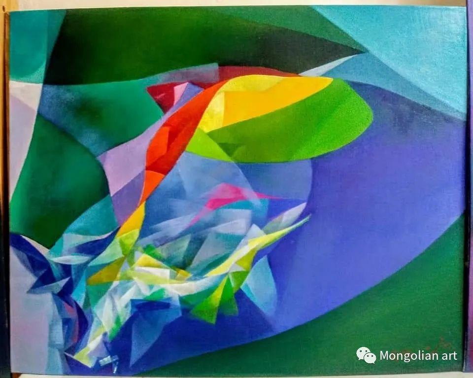 蒙古国青年艺术家 U.Battsooj 第7张