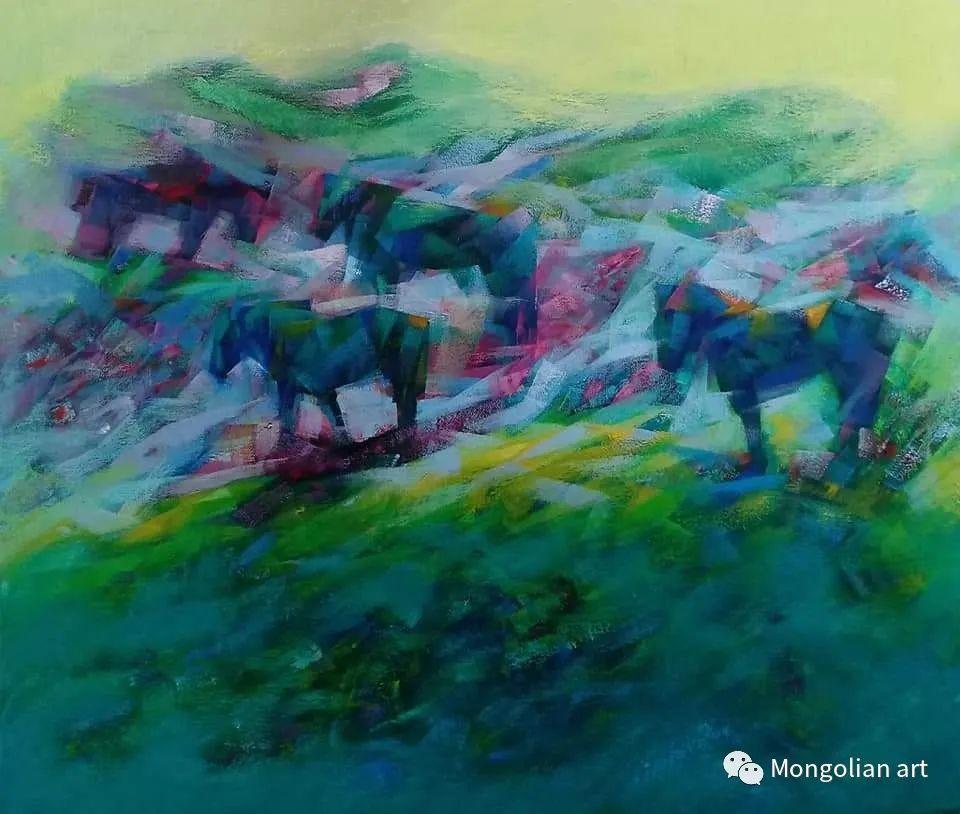 蒙古国青年艺术家 U.Battsooj 第9张