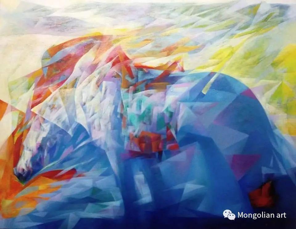 蒙古国青年艺术家 U.Battsooj 第14张