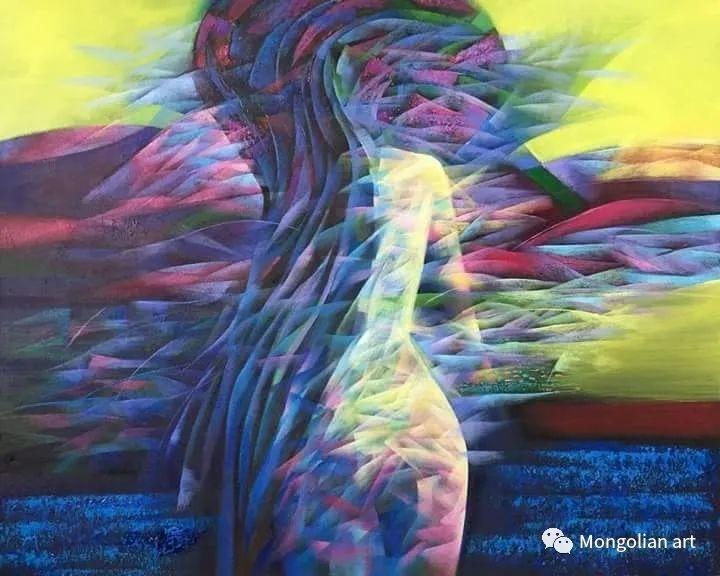 蒙古国青年艺术家 U.Battsooj 第12张