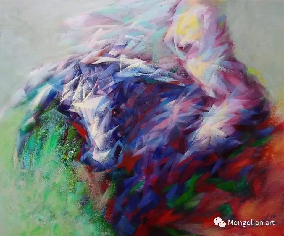 蒙古国青年艺术家 U.Battsooj 第13张