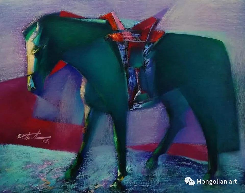 蒙古国青年艺术家 U.Battsooj 第15张