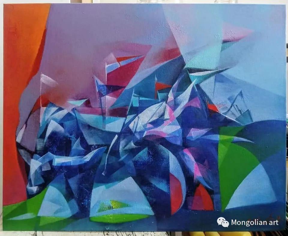 蒙古国青年艺术家 U.Battsooj 第18张