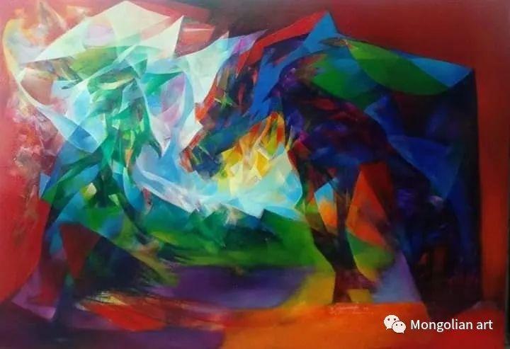 蒙古国青年艺术家 U.Battsooj 第21张