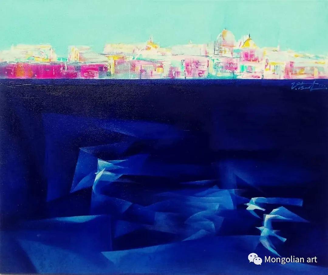 蒙古国青年艺术家 U.Battsooj 第23张