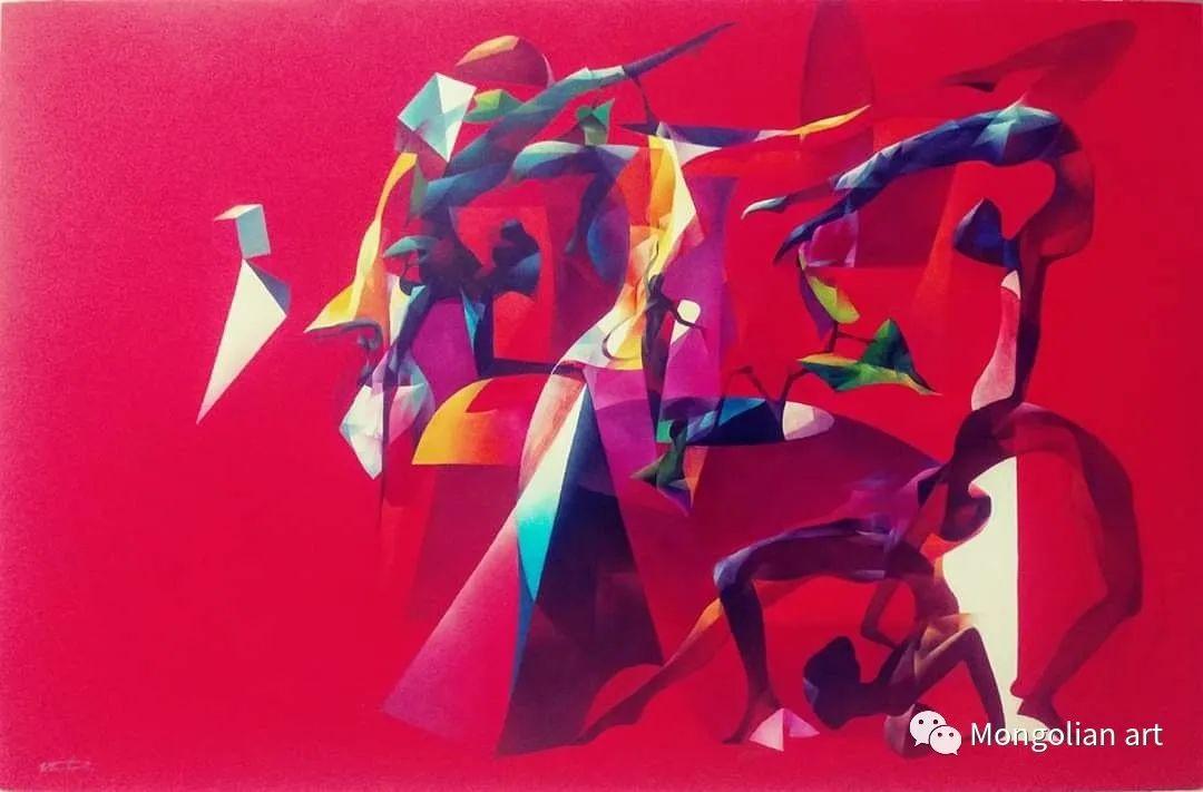 蒙古国青年艺术家 U.Battsooj 第24张
