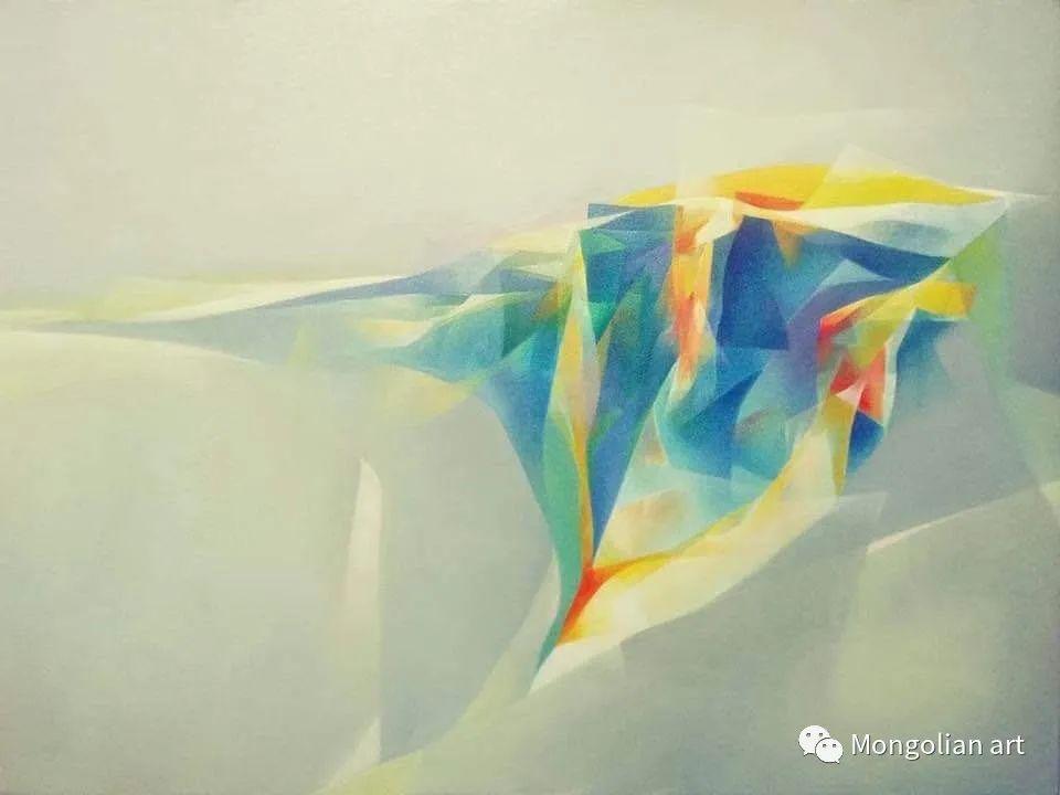 蒙古国青年艺术家 U.Battsooj 第26张