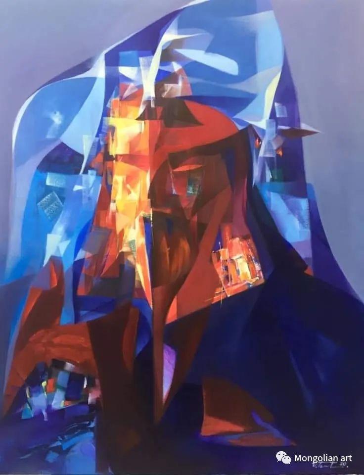 蒙古国青年艺术家 U.Battsooj 第33张
