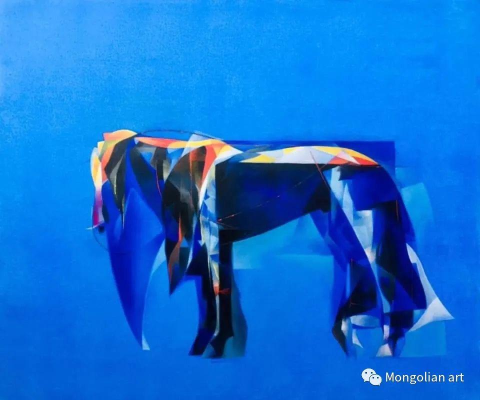 蒙古国青年艺术家 U.Battsooj 第37张