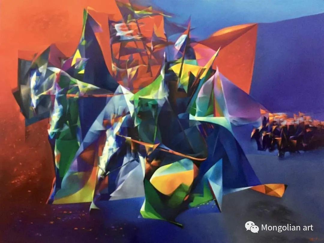 蒙古国青年艺术家 U.Battsooj 第35张