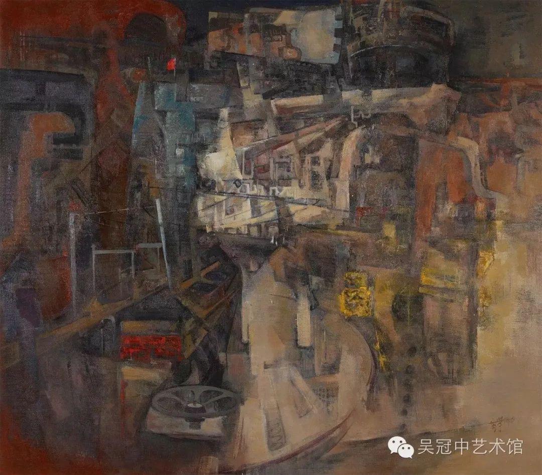 呼和浩特民族学院美术学院教师作品展 第8张