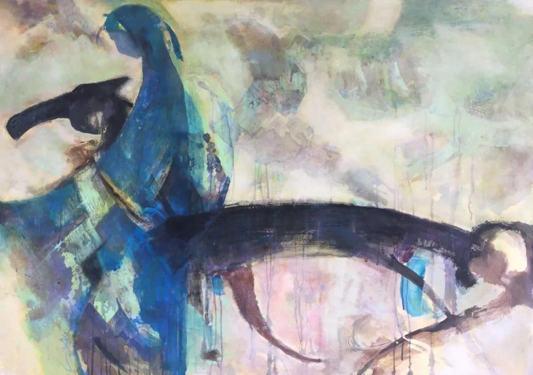 呼和浩特民族学院美术学院教师作品展 第27张