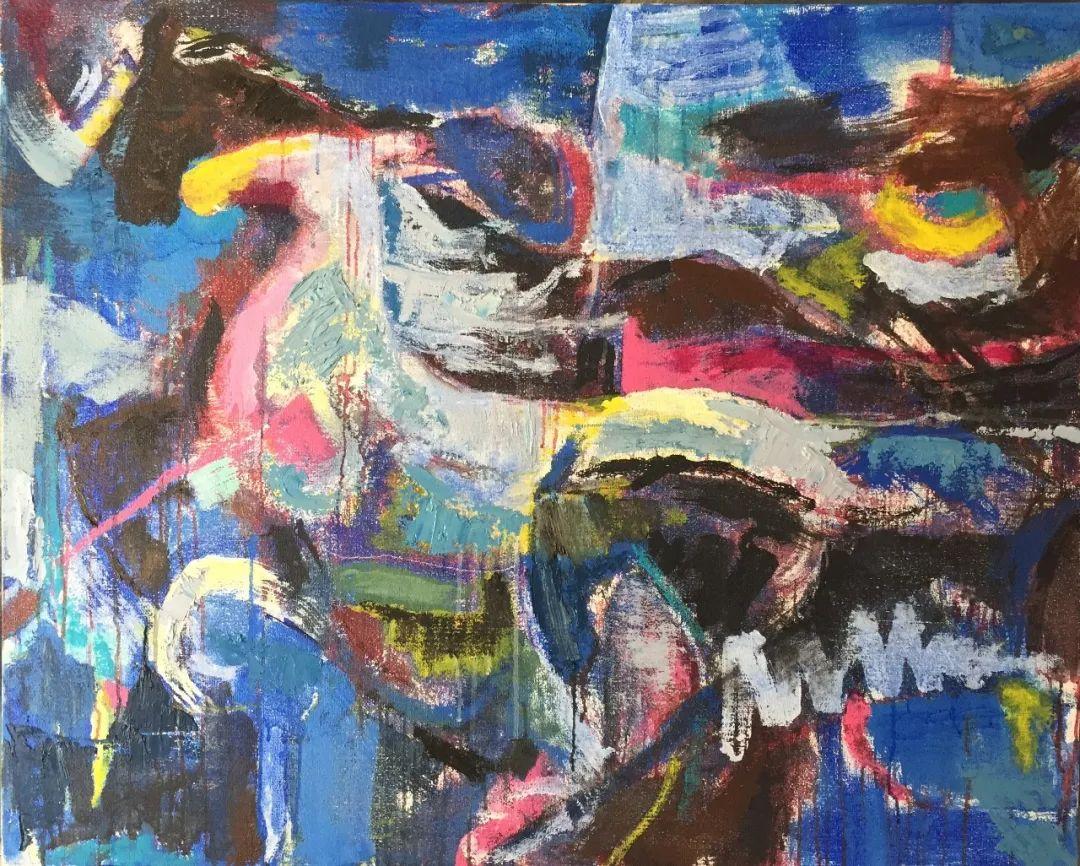 呼和浩特民族学院美术学院教师作品展 第28张