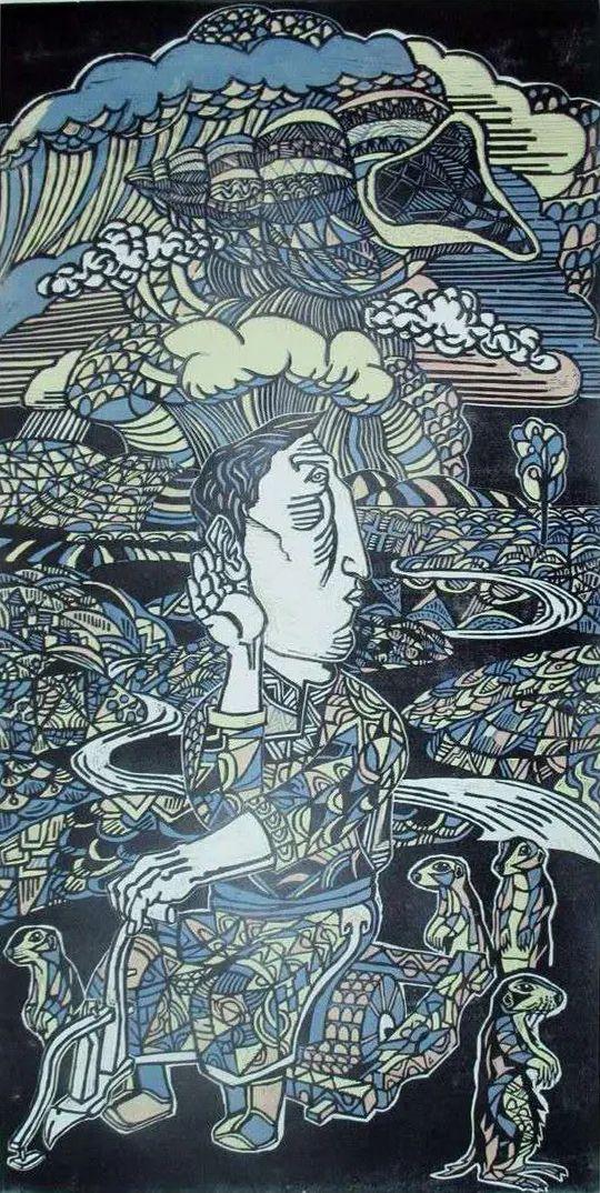 扎力根版画作品欣赏 第5张