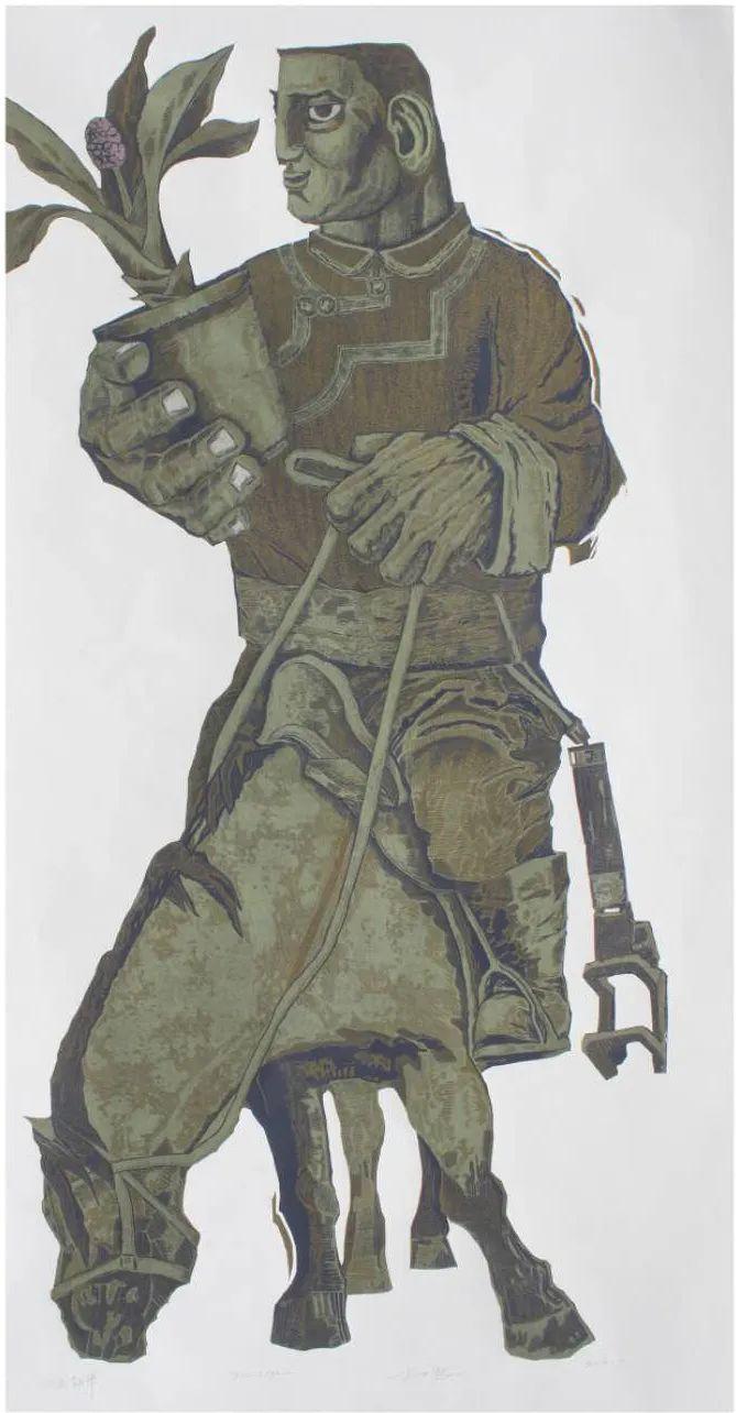 扎力根版画作品欣赏 第6张