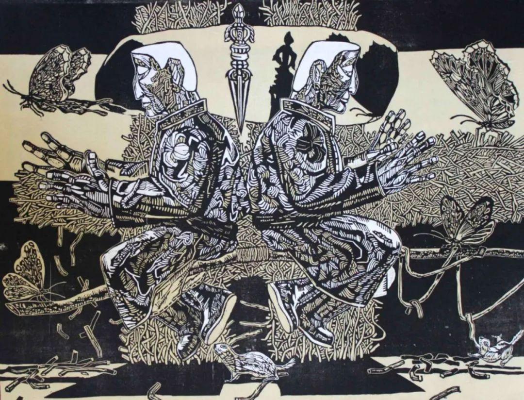 扎力根版画作品欣赏 第9张