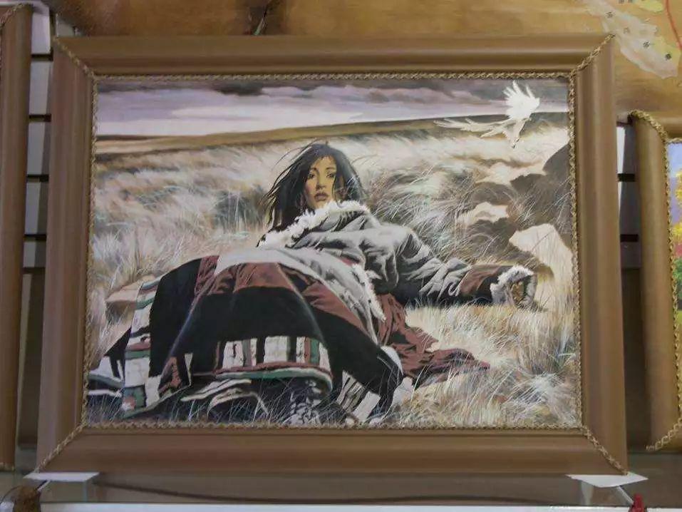 内蒙古民俗文化——内蒙古牛皮画 第4张