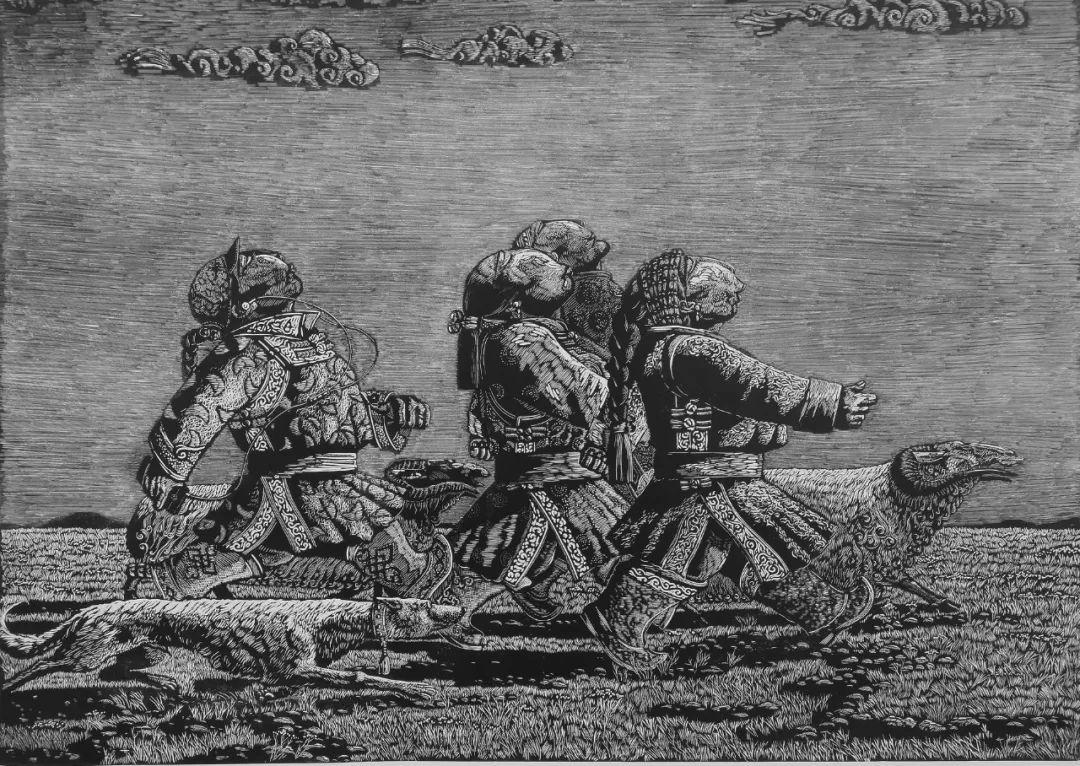内蒙古当代美术家系列--金宝军 第2张 内蒙古当代美术家系列--金宝军 蒙古画廊