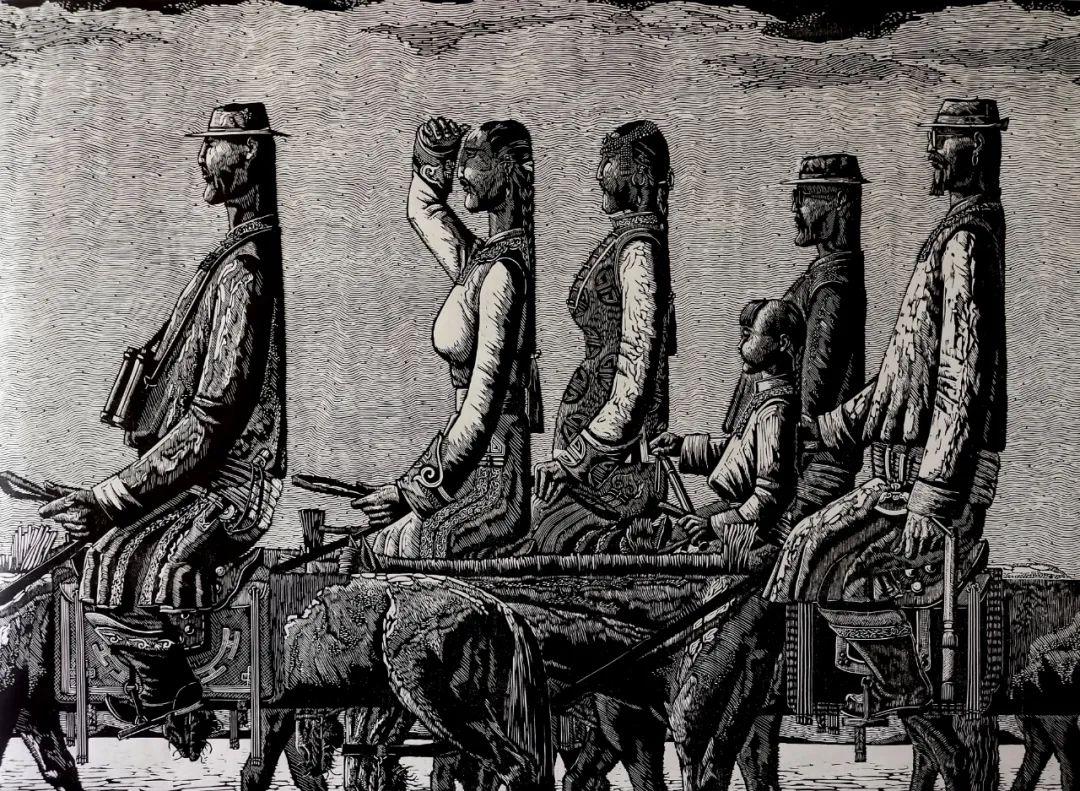内蒙古当代美术家系列--金宝军 第4张 内蒙古当代美术家系列--金宝军 蒙古画廊