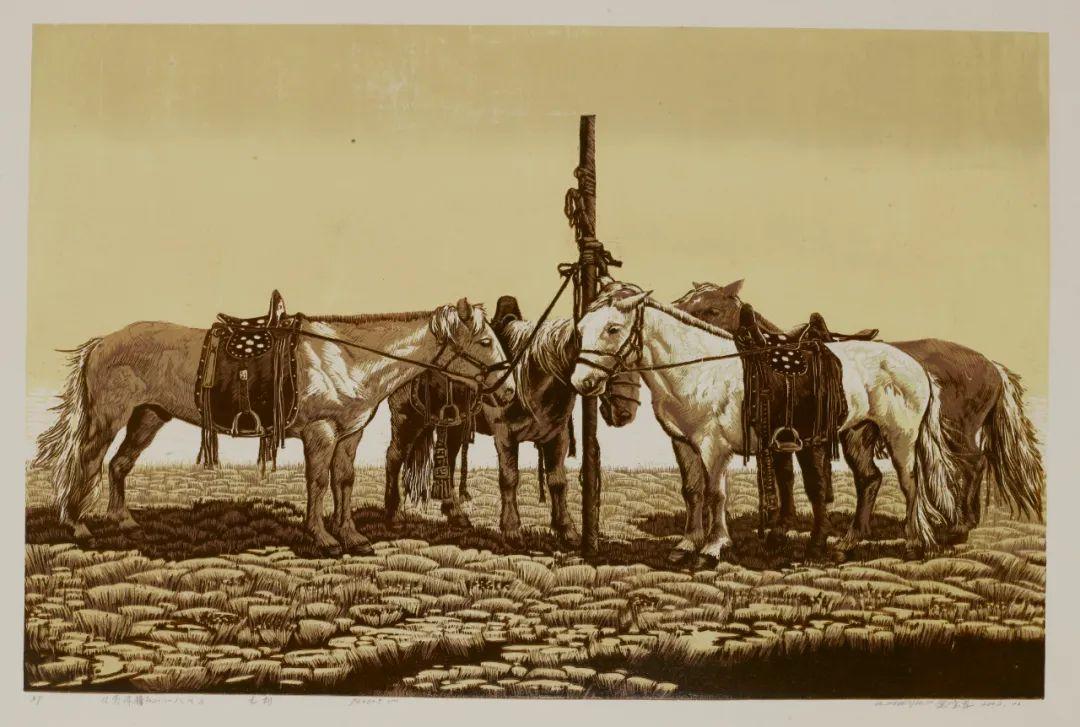 内蒙古当代美术家系列--金宝军 第11张 内蒙古当代美术家系列--金宝军 蒙古画廊