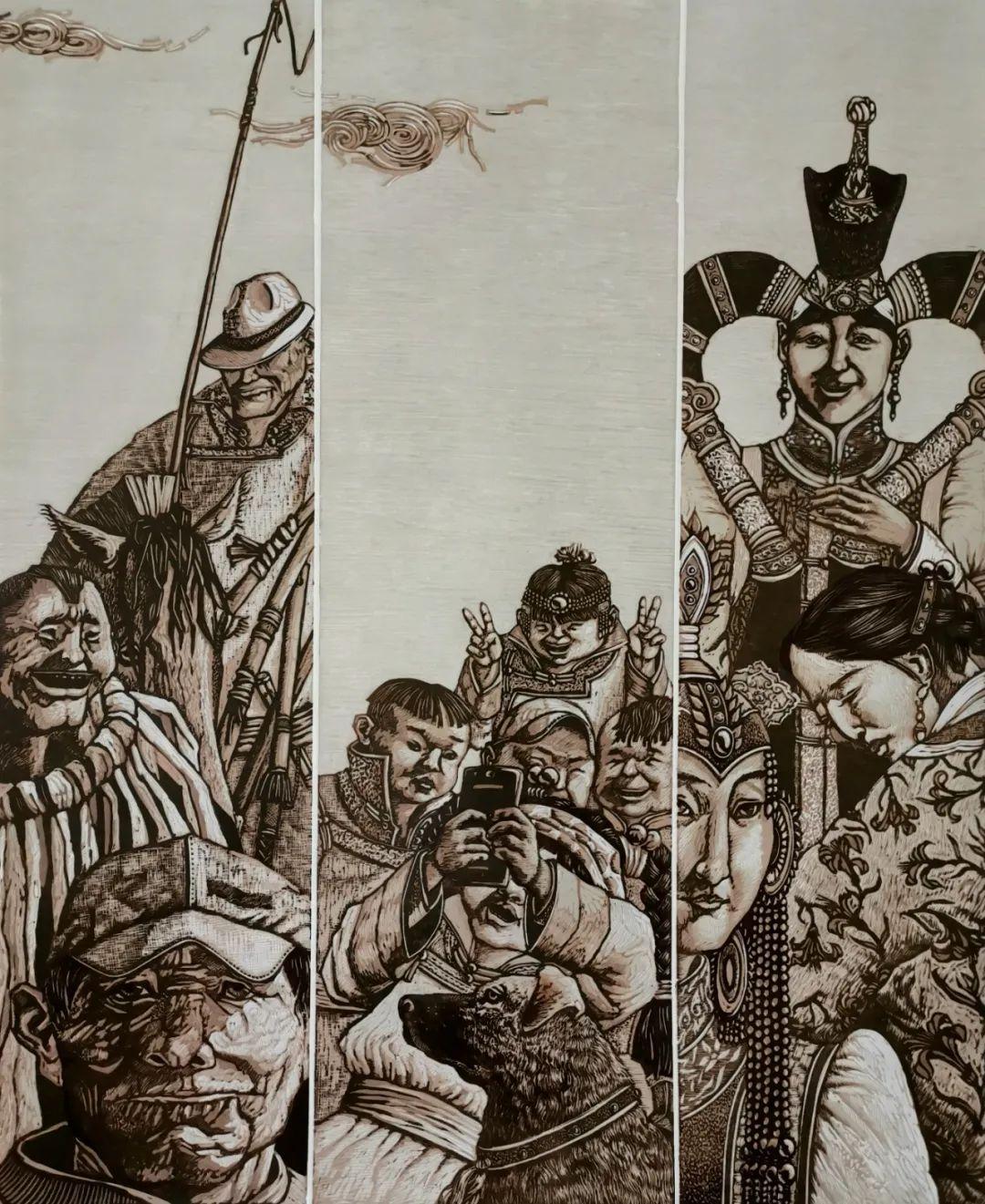 内蒙古当代美术家系列--金宝军 第9张 内蒙古当代美术家系列--金宝军 蒙古画廊