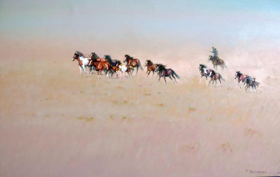 草原游牧文化——蒙古国美术家优秀作品展 第7张