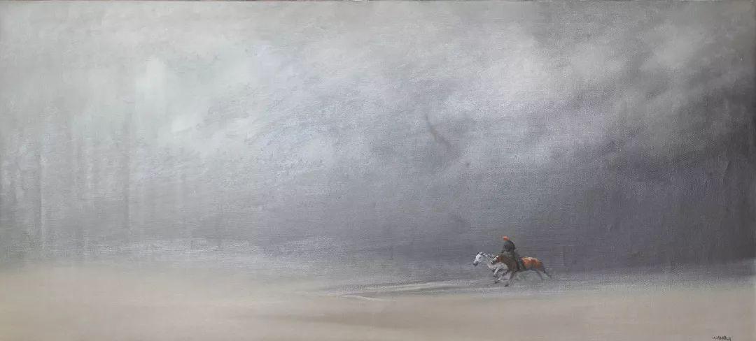 草原游牧文化——蒙古国美术家优秀作品展 第6张
