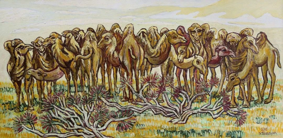 草原游牧文化——蒙古国美术家优秀作品展 第12张