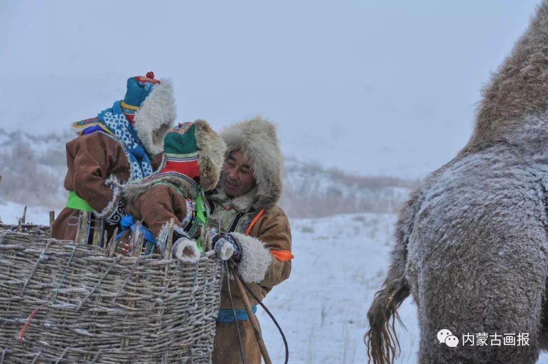 寒冷冬日,蒙古族是这样防寒的! 第7张 寒冷冬日,蒙古族是这样防寒的! 蒙古服饰