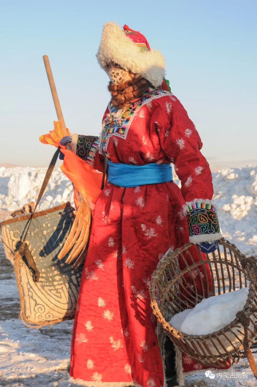 寒冷冬日,蒙古族是这样防寒的! 第9张 寒冷冬日,蒙古族是这样防寒的! 蒙古服饰