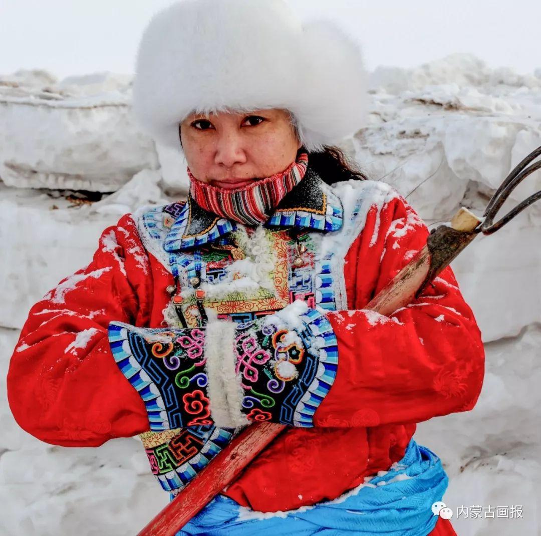 寒冷冬日,蒙古族是这样防寒的! 第15张 寒冷冬日,蒙古族是这样防寒的! 蒙古服饰
