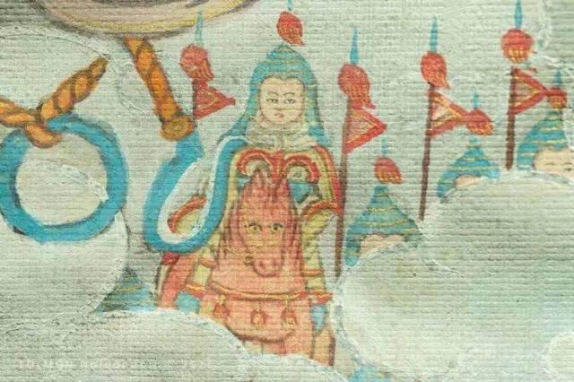 蒙古第一世哲布尊丹巴活佛亲身书画的圣主成吉思汗之像 第10张 蒙古第一世哲布尊丹巴活佛亲身书画的圣主成吉思汗之像 蒙古画廊