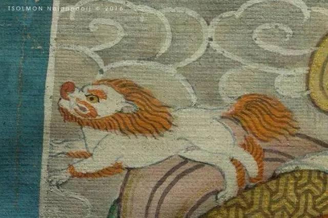 蒙古第一世哲布尊丹巴活佛亲身书画的圣主成吉思汗之像 第12张 蒙古第一世哲布尊丹巴活佛亲身书画的圣主成吉思汗之像 蒙古画廊
