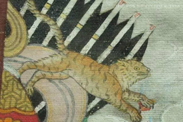 蒙古第一世哲布尊丹巴活佛亲身书画的圣主成吉思汗之像 第13张 蒙古第一世哲布尊丹巴活佛亲身书画的圣主成吉思汗之像 蒙古画廊