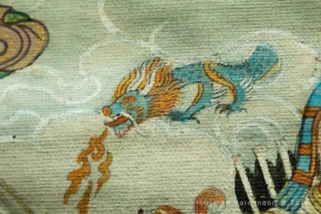 蒙古第一世哲布尊丹巴活佛亲身书画的圣主成吉思汗之像 第15张 蒙古第一世哲布尊丹巴活佛亲身书画的圣主成吉思汗之像 蒙古画廊