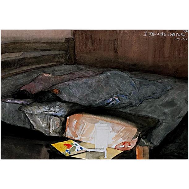 """""""游牧视界""""内蒙古小幅美术作品展作品欣赏 第4张"""